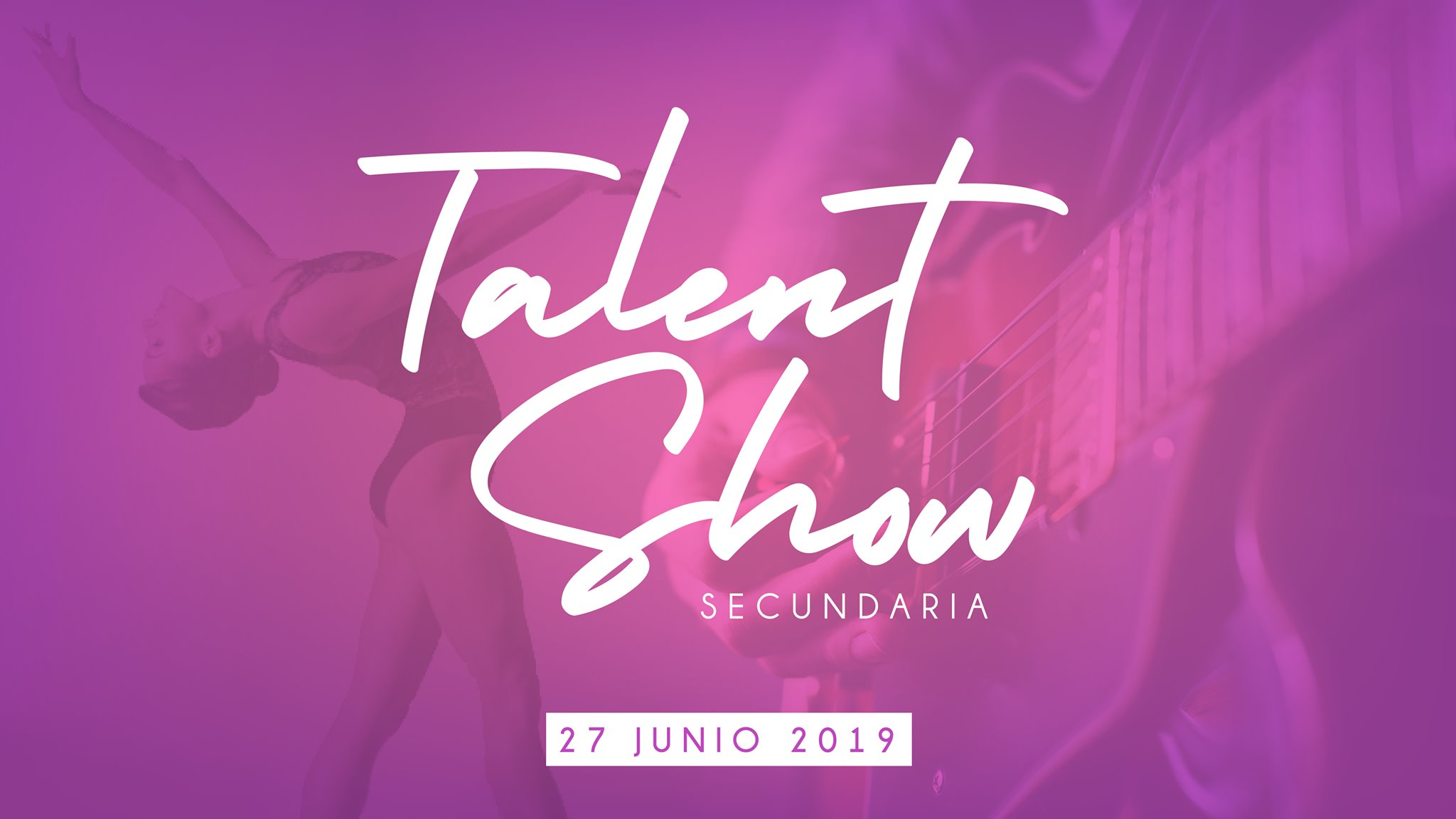 ¡Le invitamos a nuestro Talent Show!