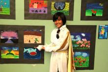 Día del Arte en escuela
