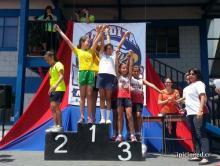 Campeona en Atletismo en la escuela