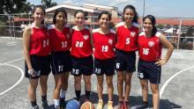 Equipo de Baloncesto Femenino IPICIM 2017