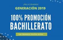 100% Promoción Bachillerato